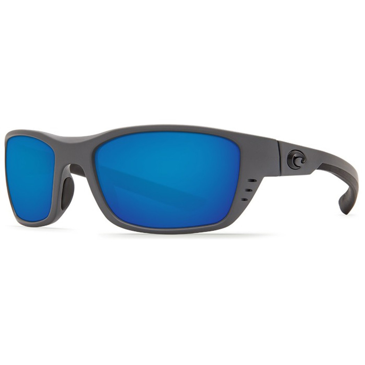 fb4340b67 Costa Sunglasses - Whitetip - Matte Gray Blue Mirror 580G - Surf and Dirt