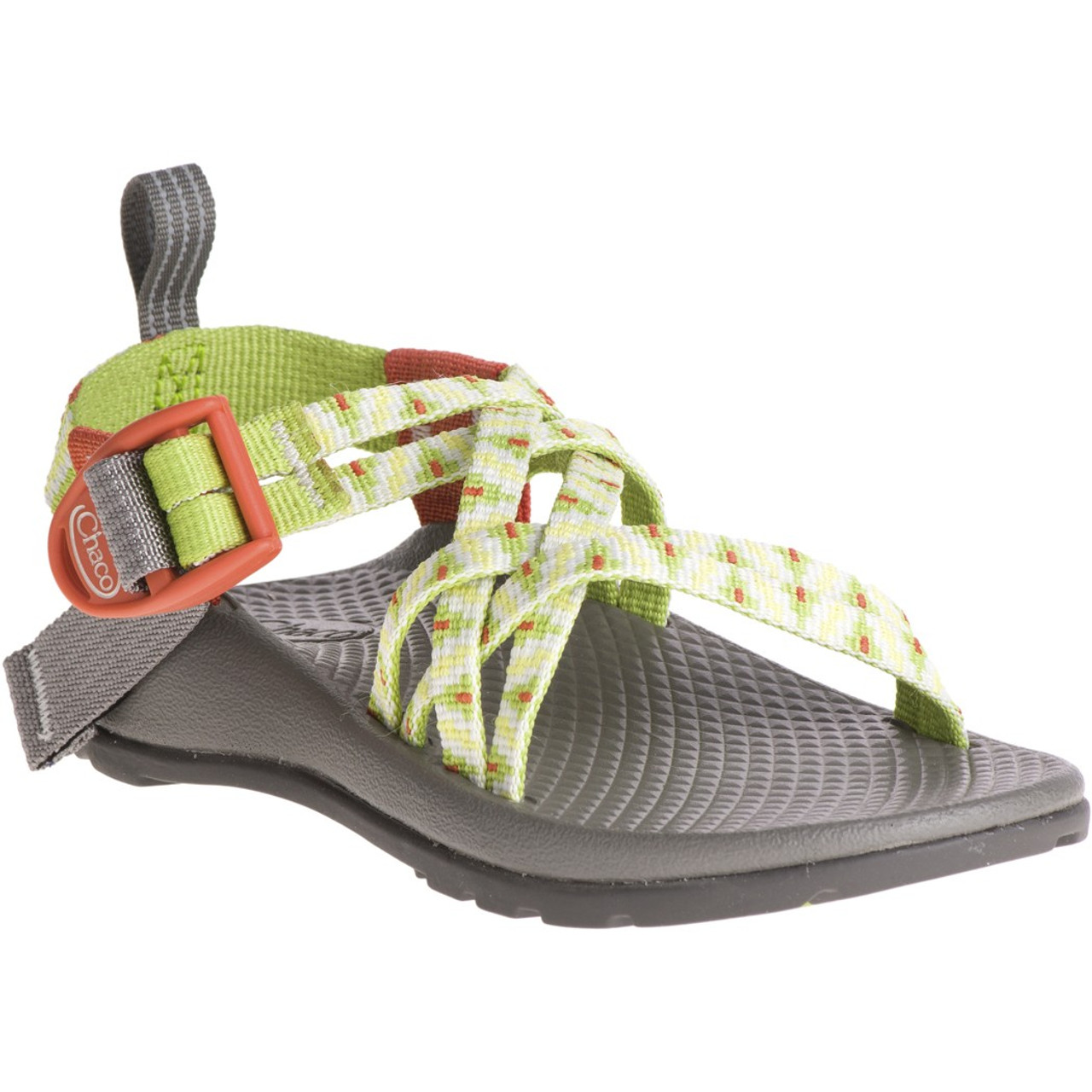 1b259f605b3f Chacos Kid s Sandals - ZX 1 Ecotread - Zigzag Greenery - Surf and Dirt