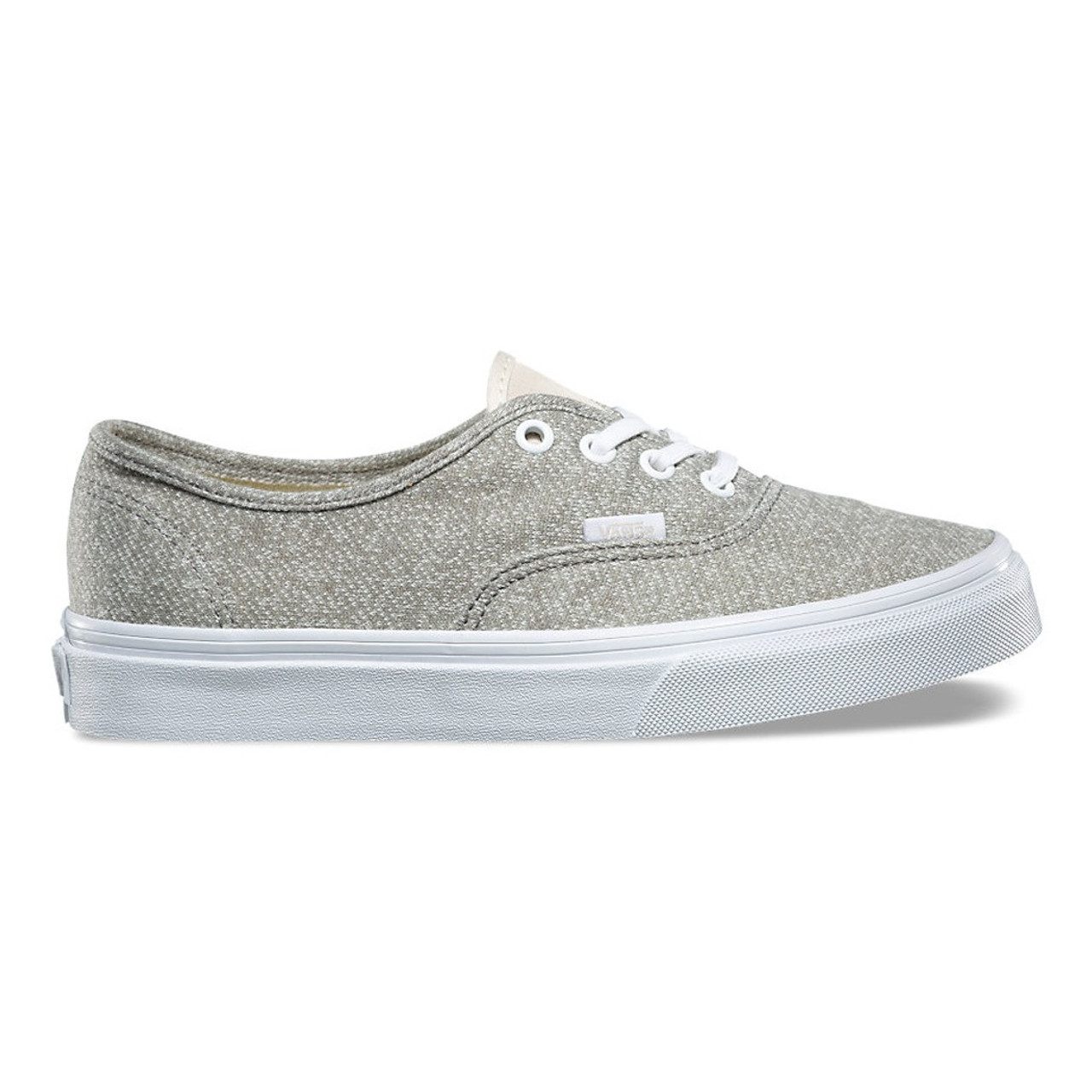 cute cheap big clearance sale exclusive deals Vans Womens Shoes - Authentic J and S - Frost Grey/White