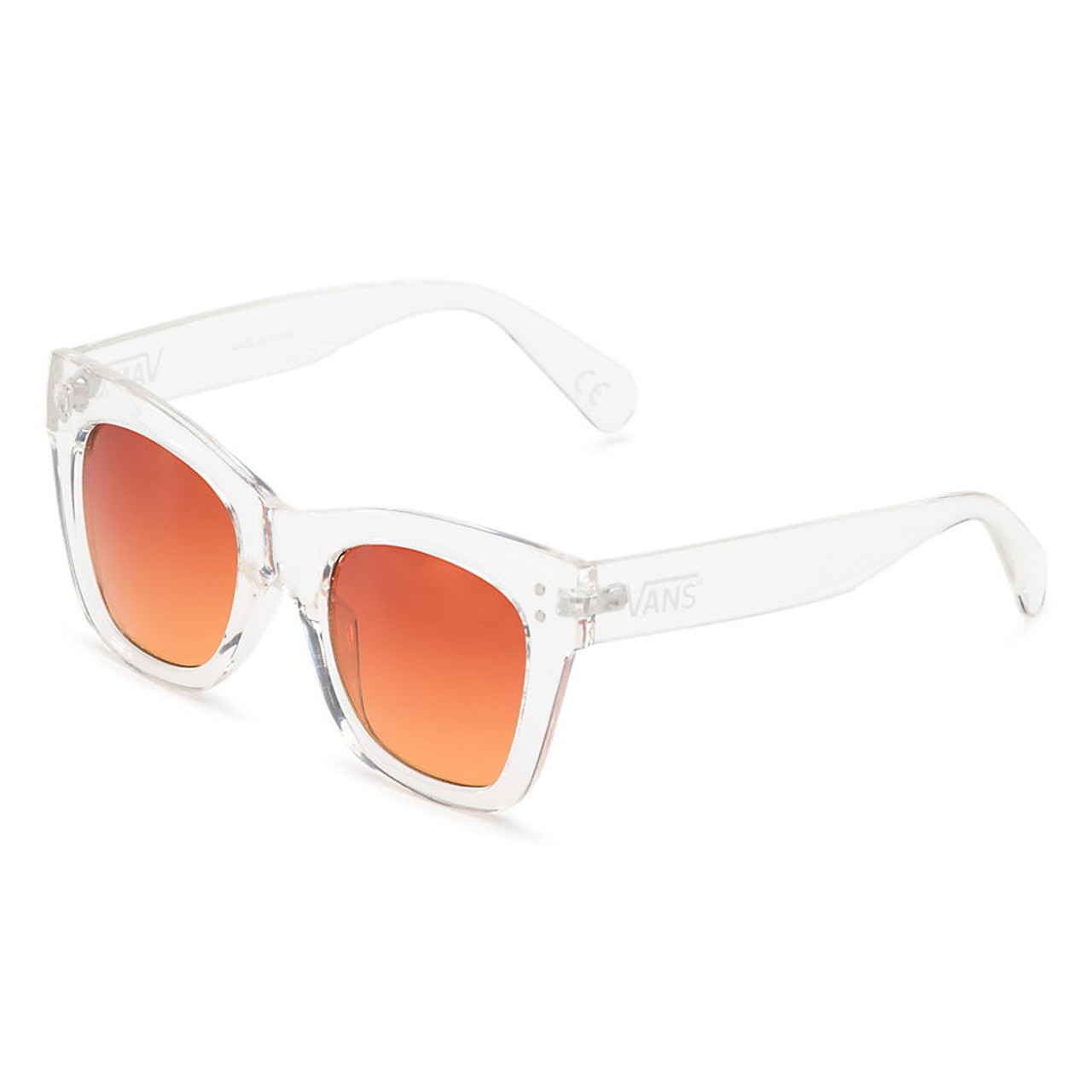 b2bc54cdf69c2 Vans Women s Sunglasses - Sunny Dazy - Clear Sunset Gradient - Surf and Dirt