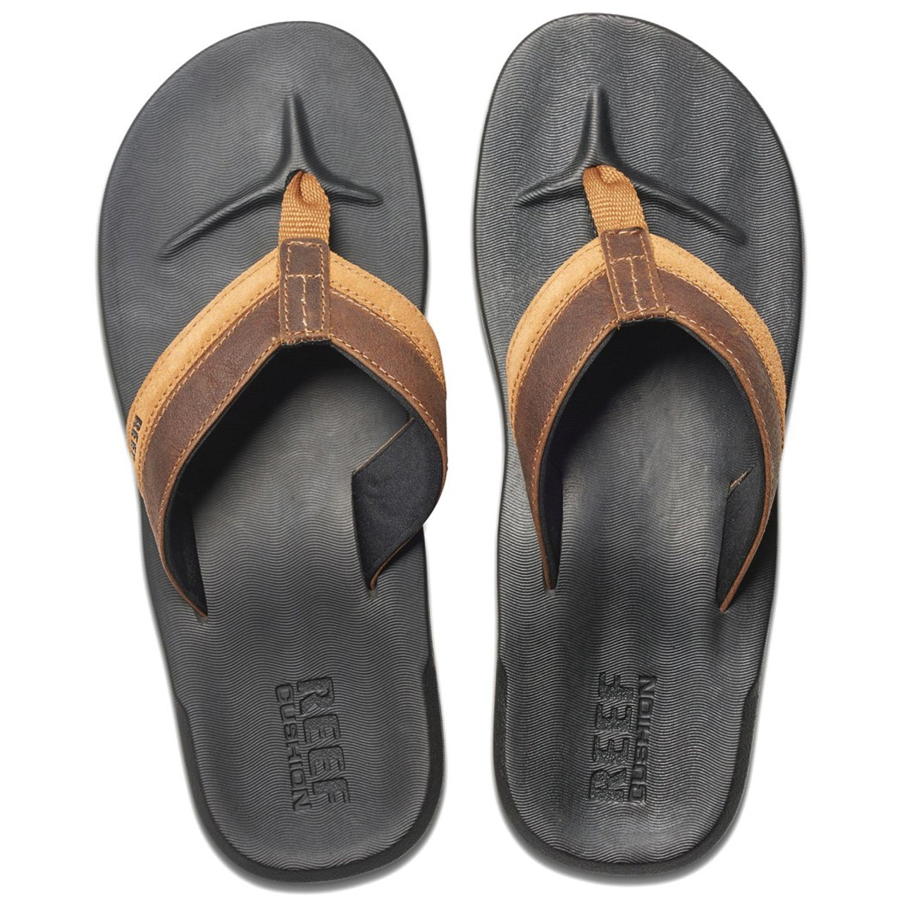 4e2f8b08148b Reef Flip Flop - Contour Cushion LE - Black Brown - Surf and Dirt