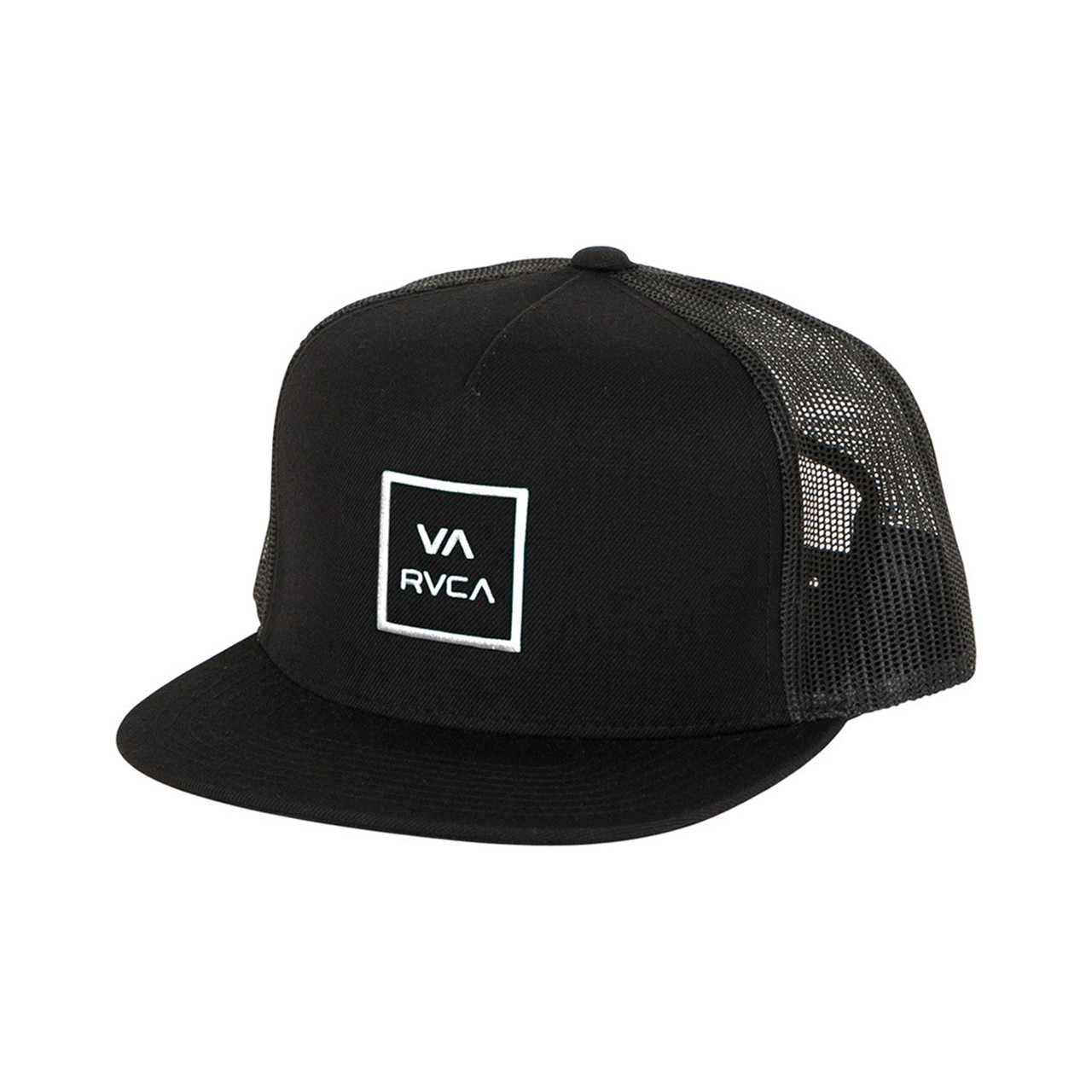 new products ded00 bf123 ... coupon code rvca kids hat va all the way trucker black surf and dirt  3da13 70c47