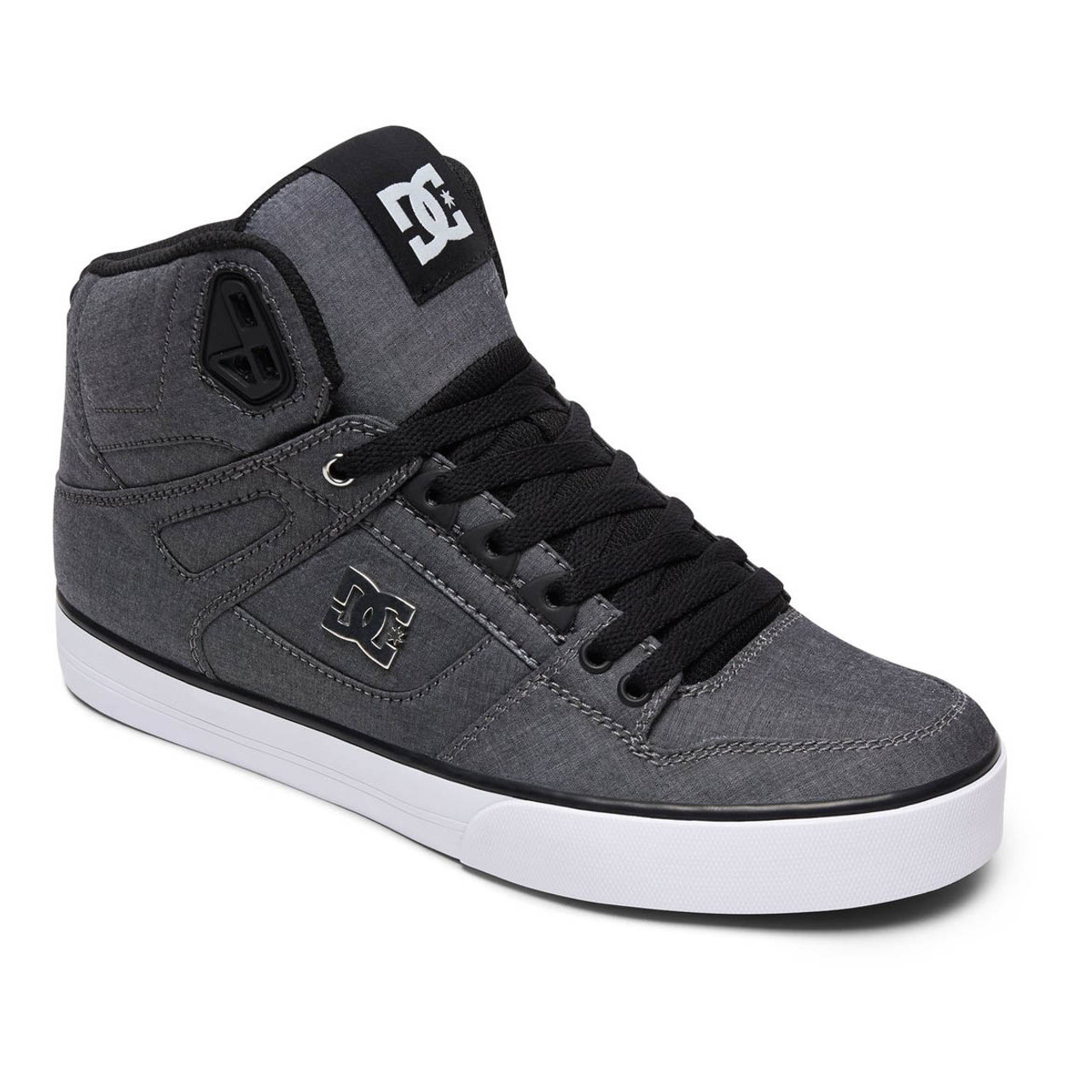 f2b2802fd5 DC Shoes - Pure High-Top WC TX SE - Black White Black - Surf and Dirt