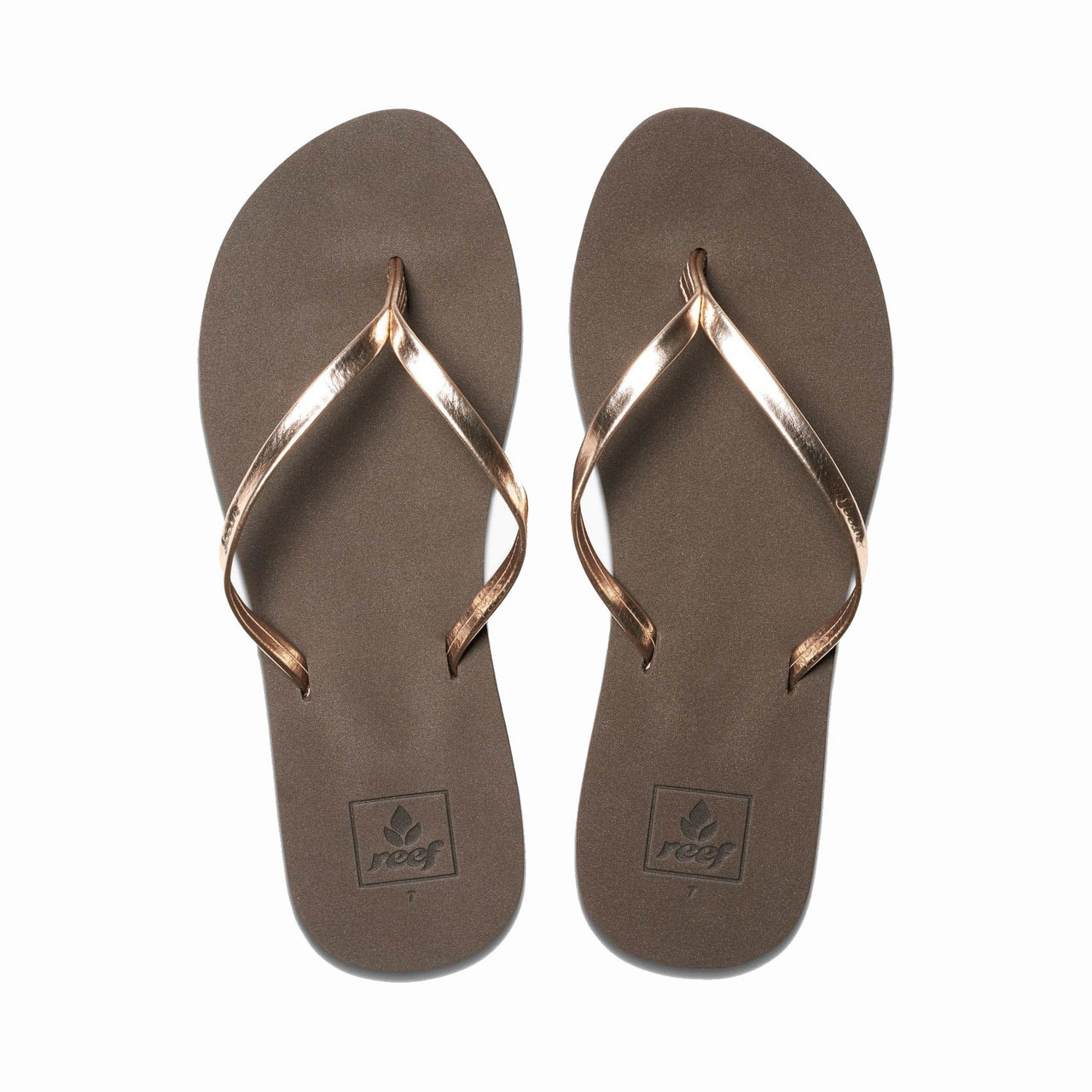 09db0869b4a3 Reef Women s Flip Flops - Bliss Nights - Rose Gold - Surf and Dirt
