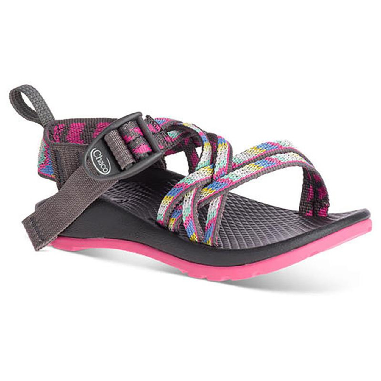6f910dcb7ee1 Chaco Kid s Sandal - ZX 1 Kids - Fletched Pink - Surf and Dirt