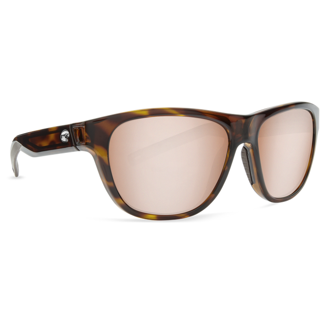 da39ee6ab4 Costa Sunglasses - Bayside - Shiny Tort Silver Mirror Copper - Surf and Dirt