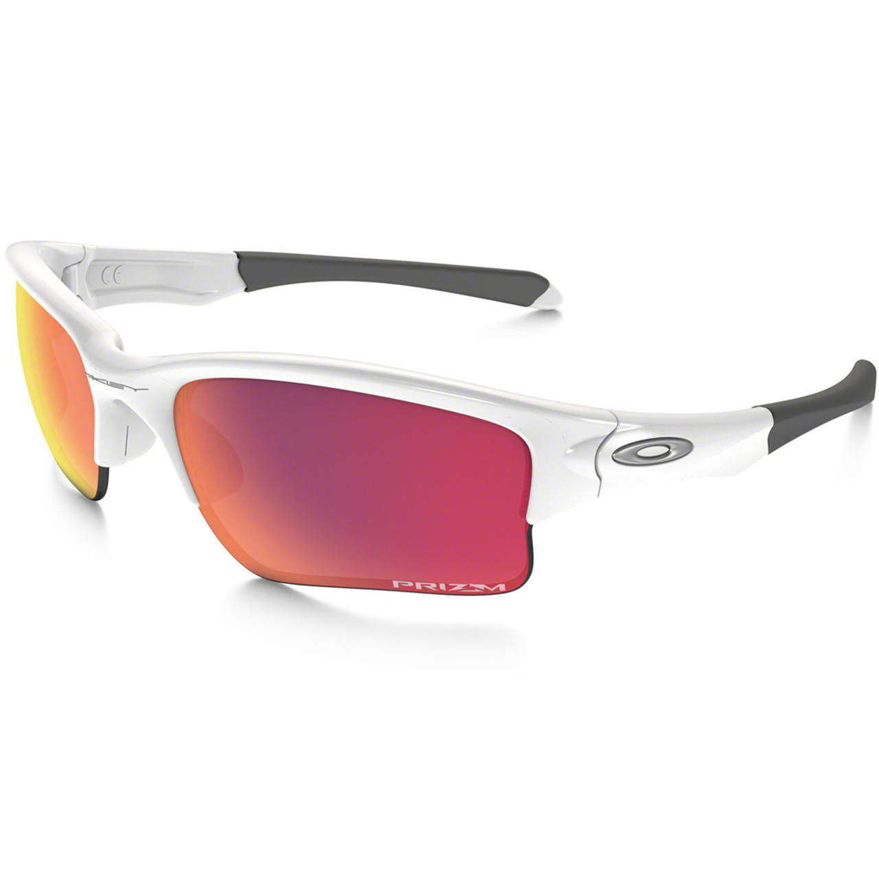 3c98bb9e911fc Oakley Sunglasses - Quarter Jacket - White Prizm Baseball - Surf and Dirt