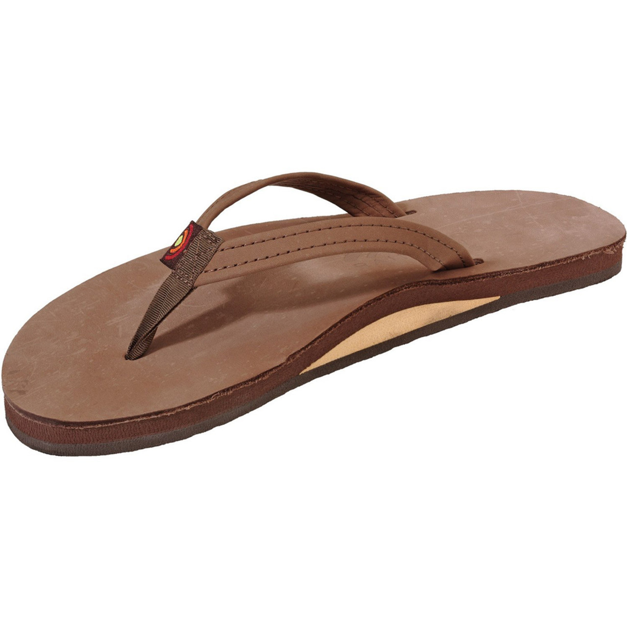 96d9da8039d9 Rainbow Women s Flip Flop - Premier Narrow - Brown - Surf and Dirt