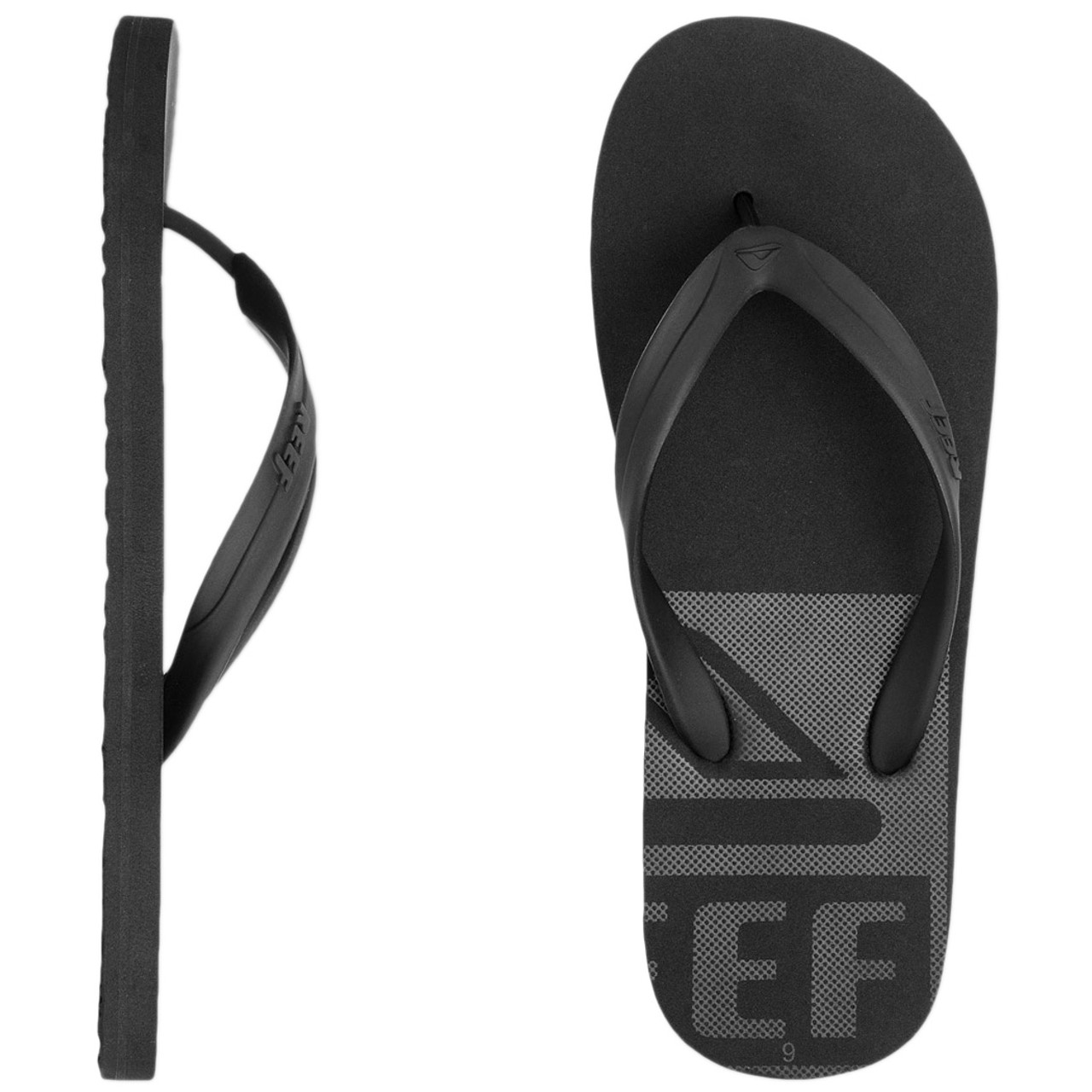 cdc21f29619 Reef Flip Flop - Pulse T.Q.T - Black - Surf and Dirt