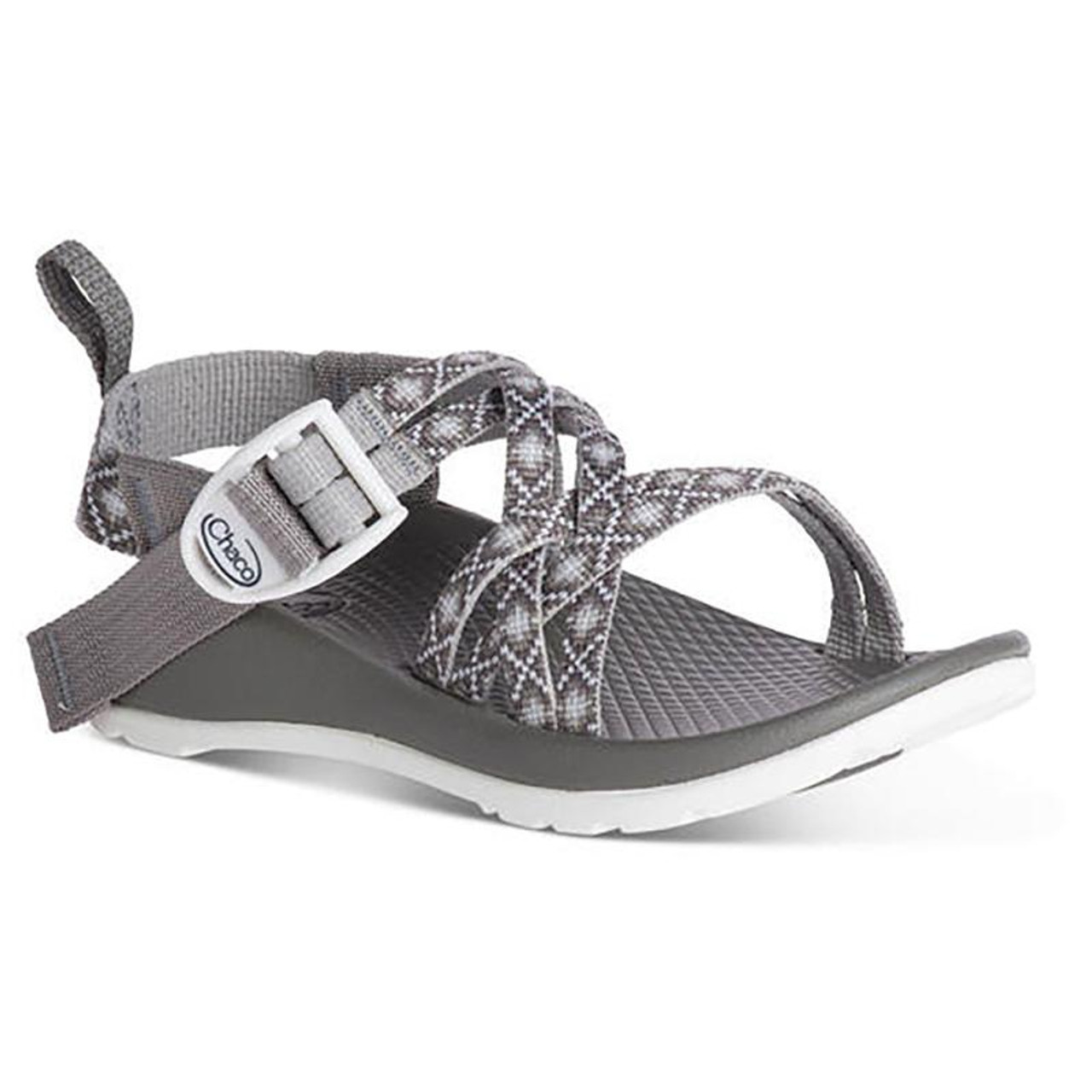 e2cba1d40395 Chaco Kid s Sandal - ZX 1 Kids - Diamond Grey - Surf and Dirt