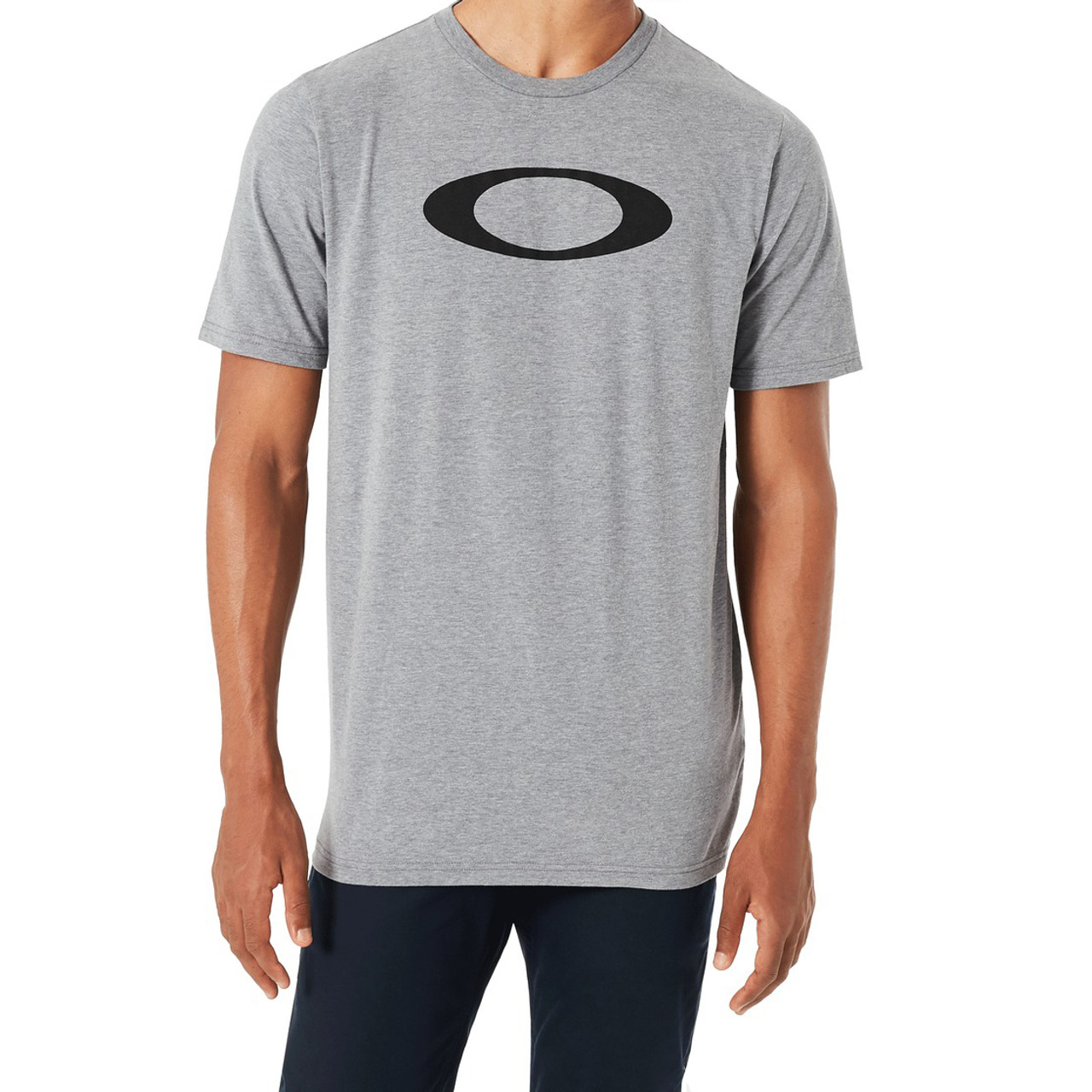 260aad3c00e Oakley Tee Shirt - Bold Ellipse - Stone Grey - Surf and Dirt