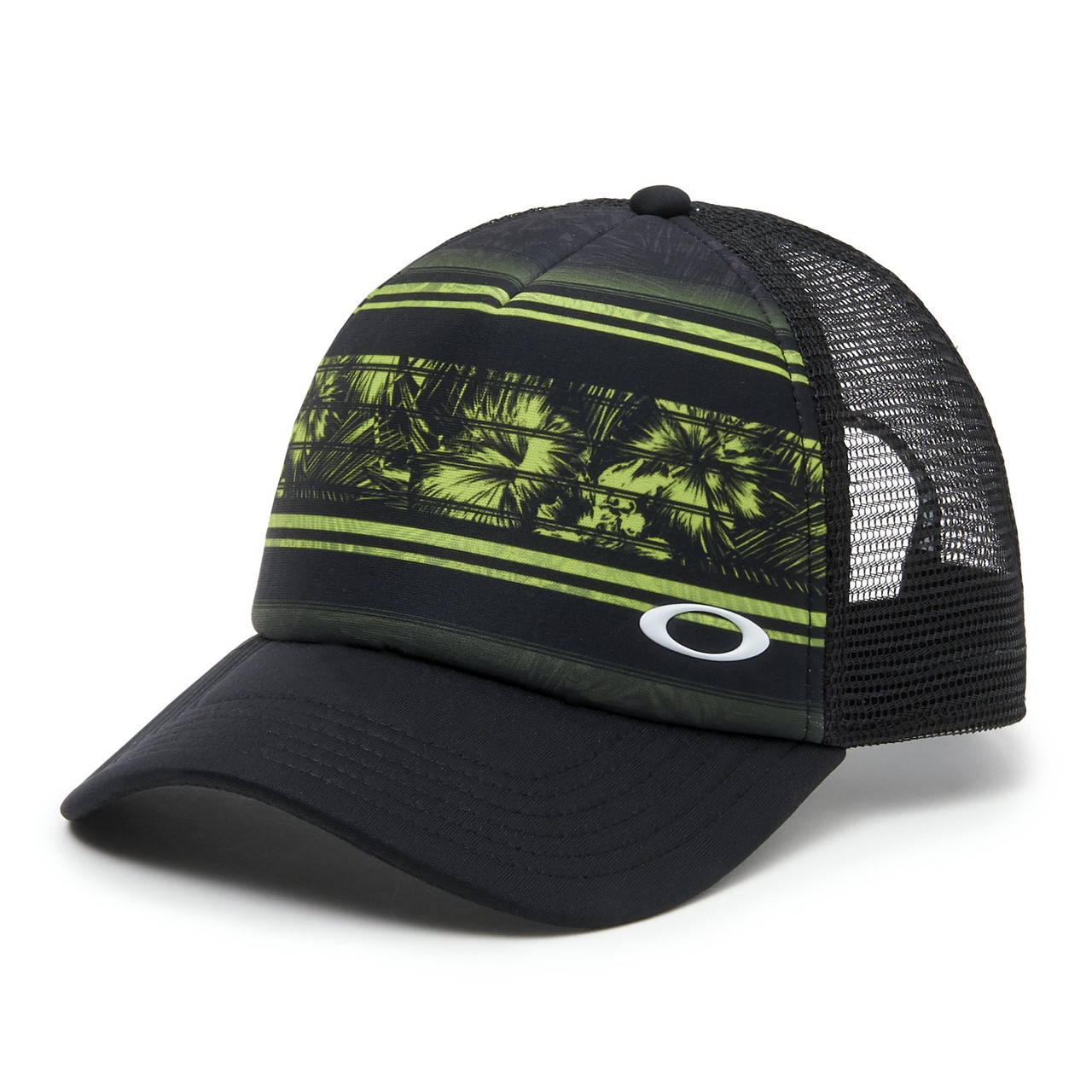 ae0d8f6faefe40 Oakley Hat - Mesh Sublimated Trucker - Lime Green - Surf and Dirt