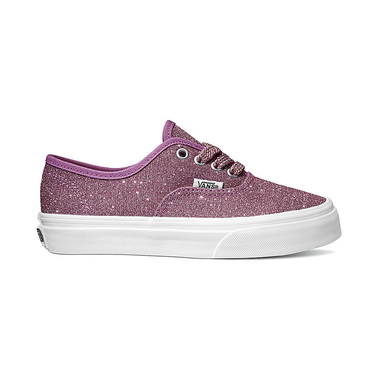 280432d87f20 Vans Youth Shoes - Authentic - Lurex Glitter/Pink/True White - Surf ...