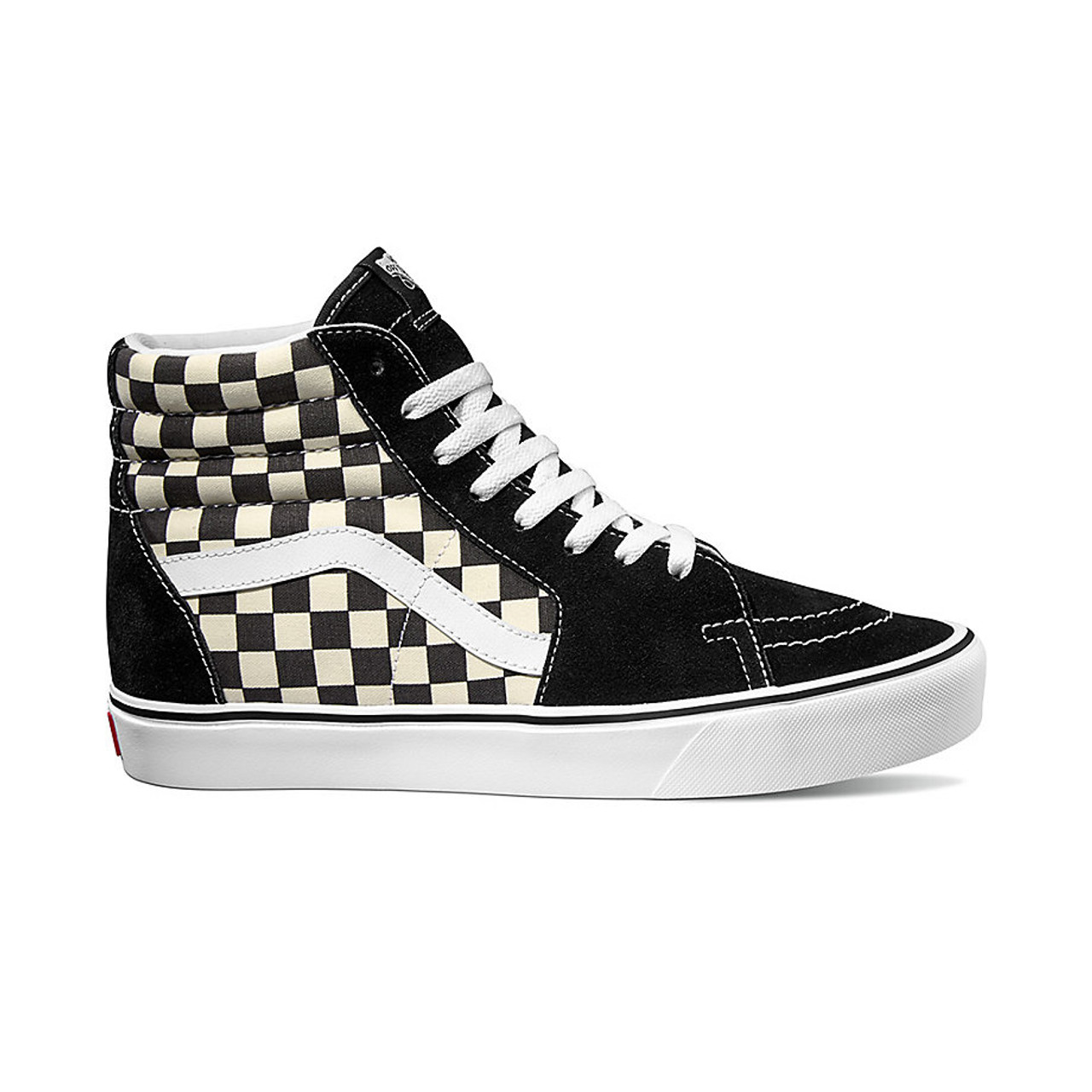 2f2e8bb708950f Vans Shoes - Sk8-Hi Lite - Checkerboard Black White - Surf and Dirt