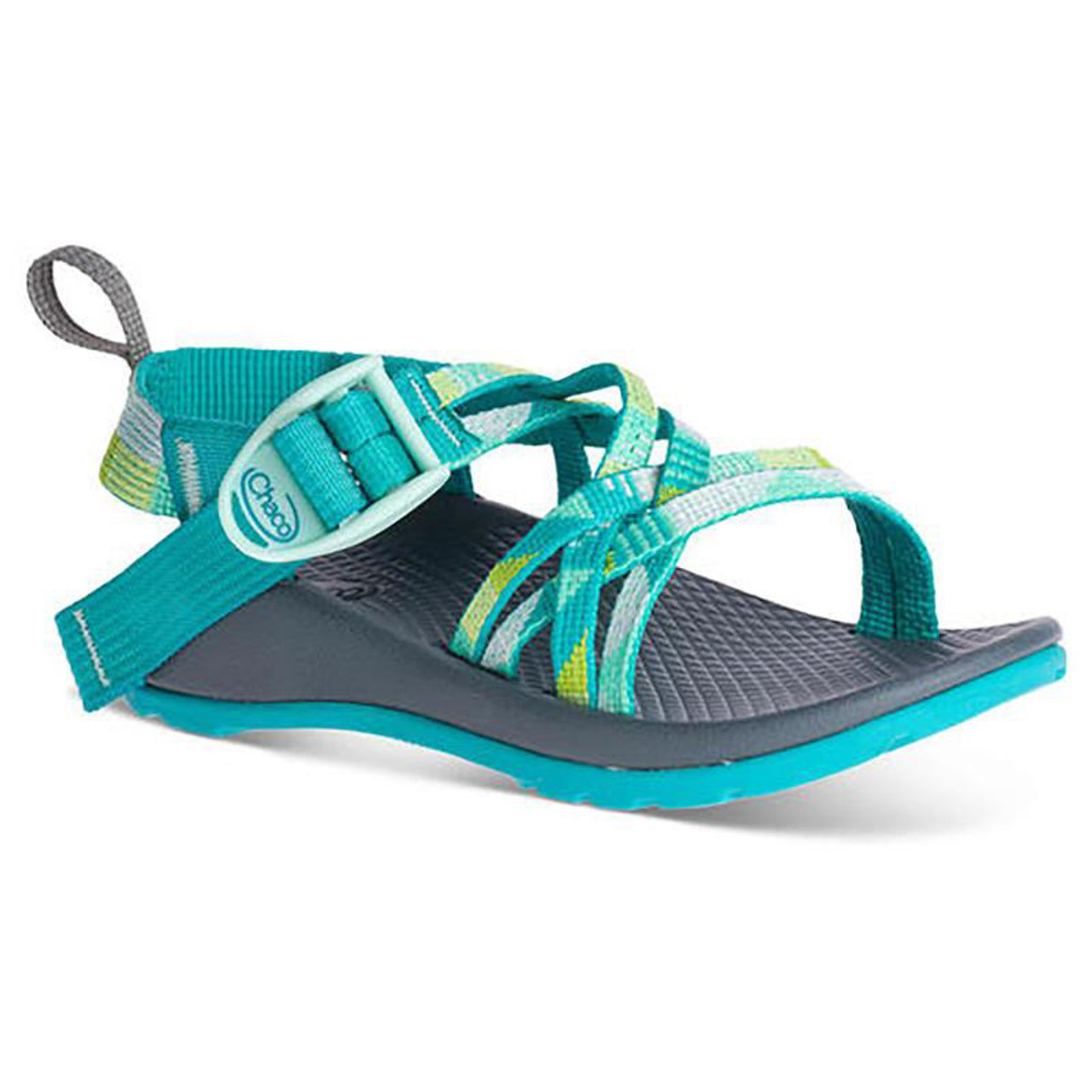 97c0a8b60518 Chaco Kid s Sandal - ZX 1 Kids - Puzzle Opal - Surf and Dirt