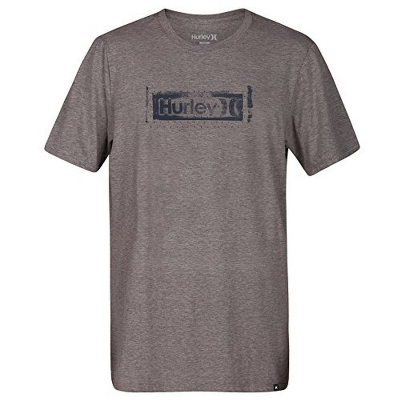 402bf1b53 Hurley Tee Shirt - One and Only Roller Dri-Fit - Dark Grey Heather ...