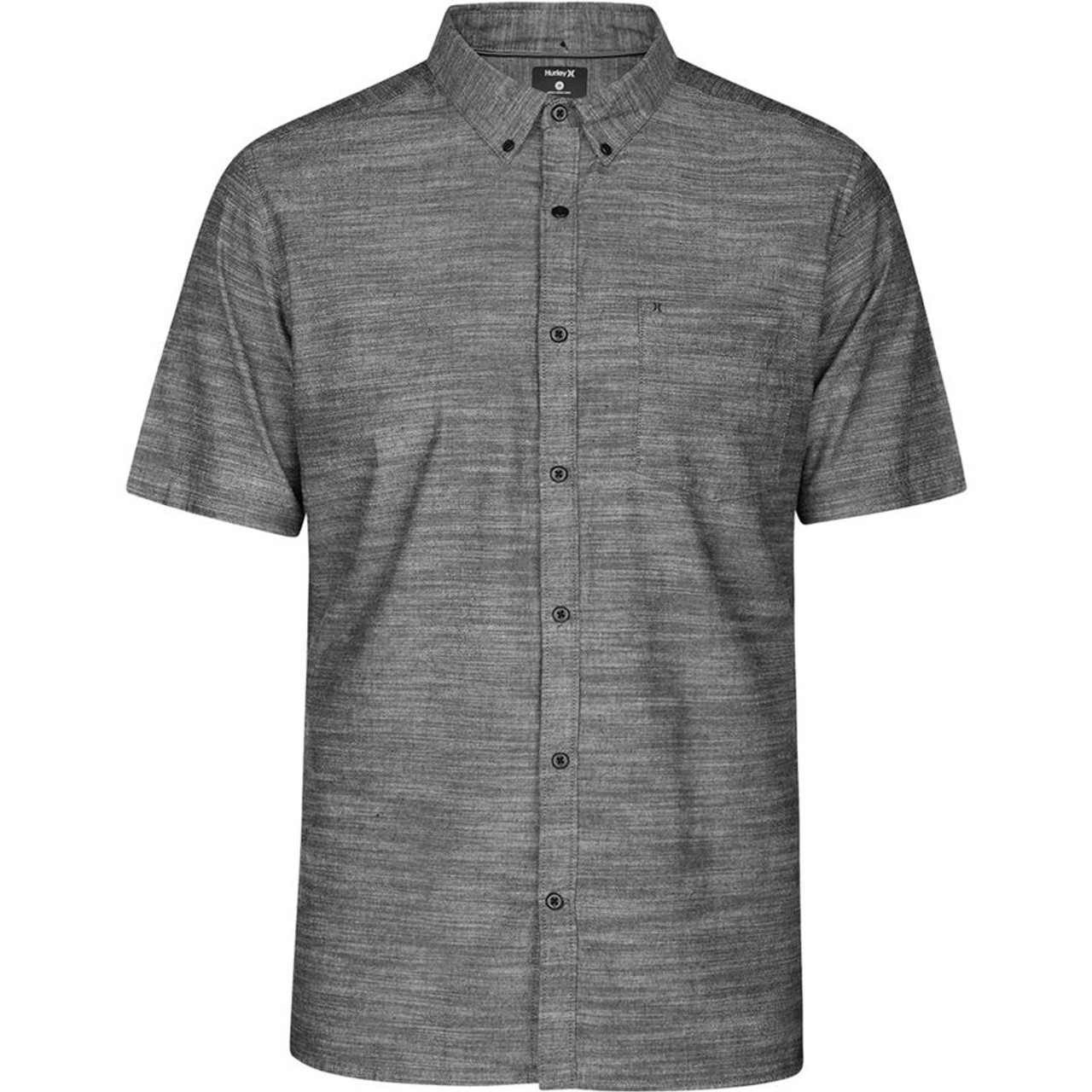bcec0aaae3 Hurley Shirt - One and Only Woven 2.0 - Black