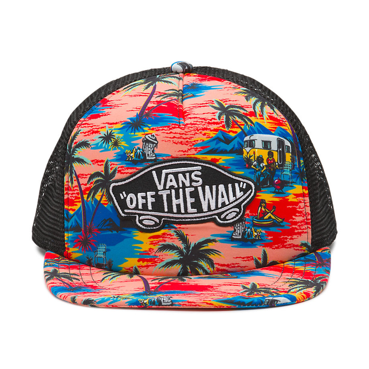 Vans Hat - Classic Patch Trucker Plus - Dystopia Floral - Surf and Dirt 813159df5