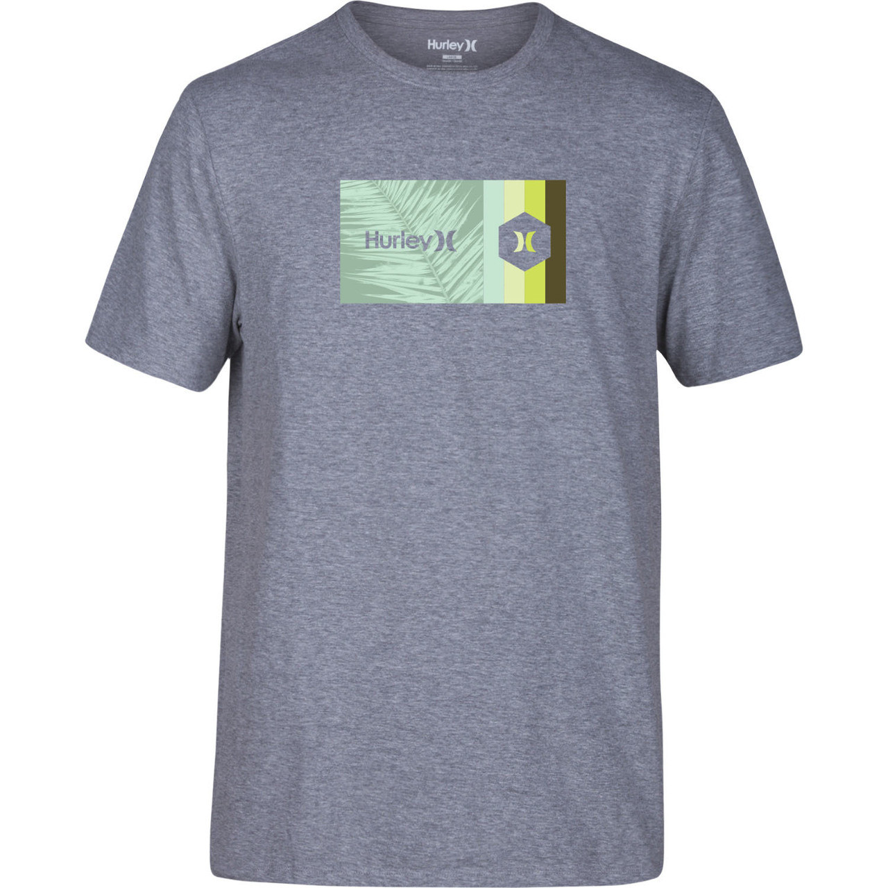 a954dd30 Hurley Tee Shirt - Double Standard - Dark Heather Grey - Surf and Dirt