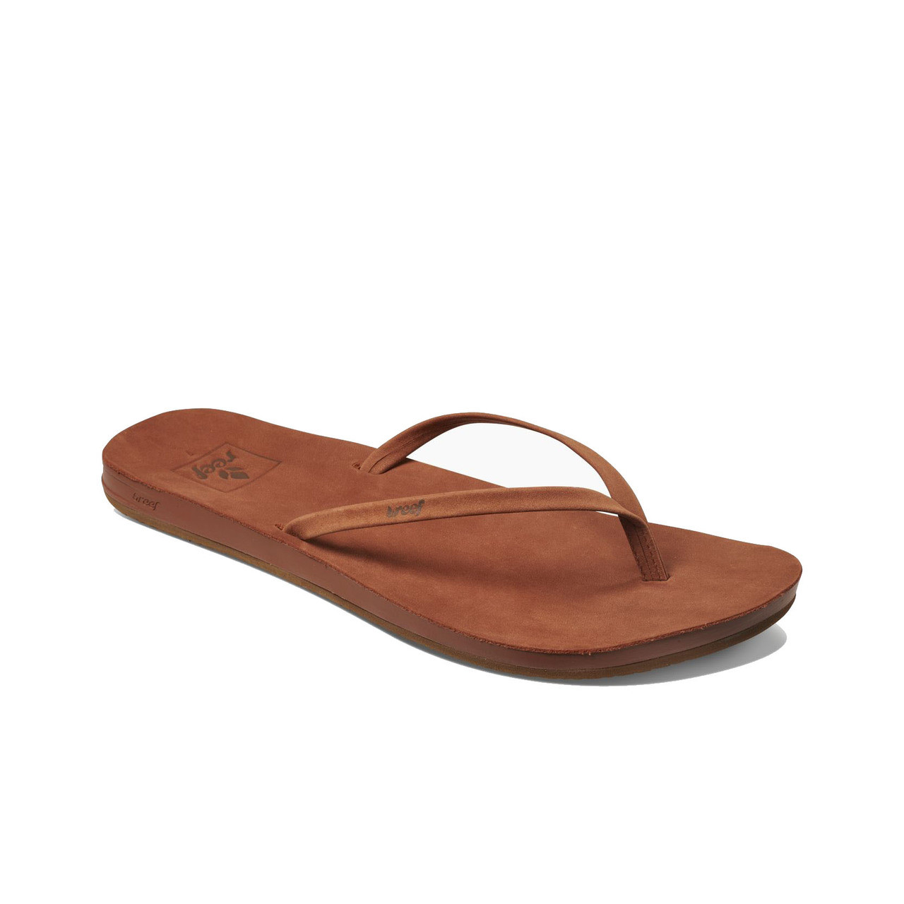 e7eee06427bc Reef Women s Flip Flops - Cushion Bounce Slim LE - Cocoa - Surf and Dirt