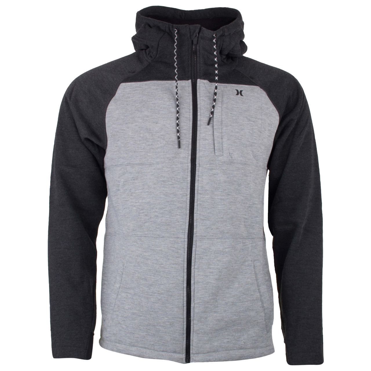 outlet store 100% quality separation shoes Hurley Jacket - Therma Protect Plus - White/Black - Surf and Dirt