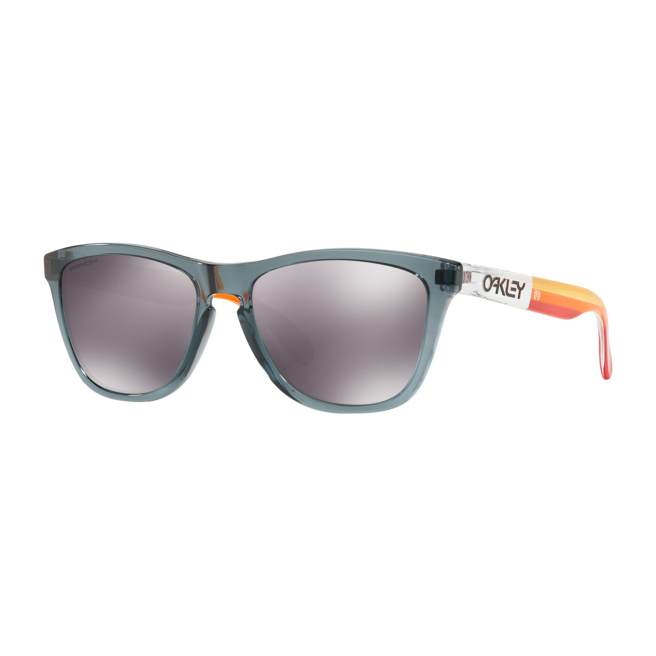 e94d040697 Oakley Sunglasses - Frogskins Prizm Grips Collection - Crystal Black Prizm  Black - Surf and Dirt