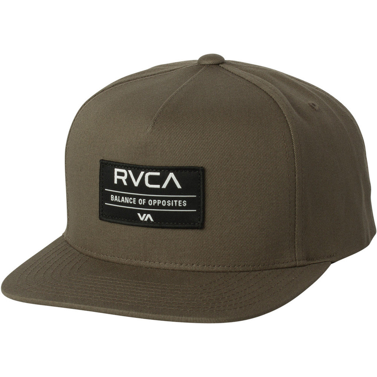 682f9203 RVCA Hat - Territory Snapback - Dark Khaki - Surf and Dirt