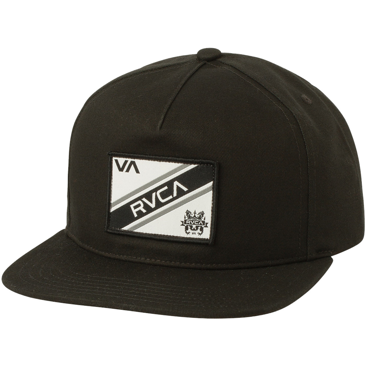 5e072339 RVCA Hat - Places - Black - Surf and Dirt