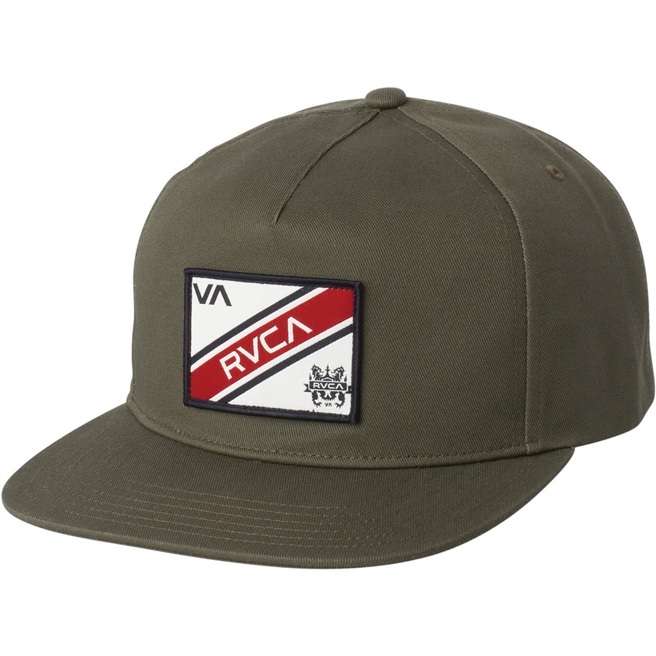 9b215dbb RVCA Hat - Places - Olive - Surf and Dirt