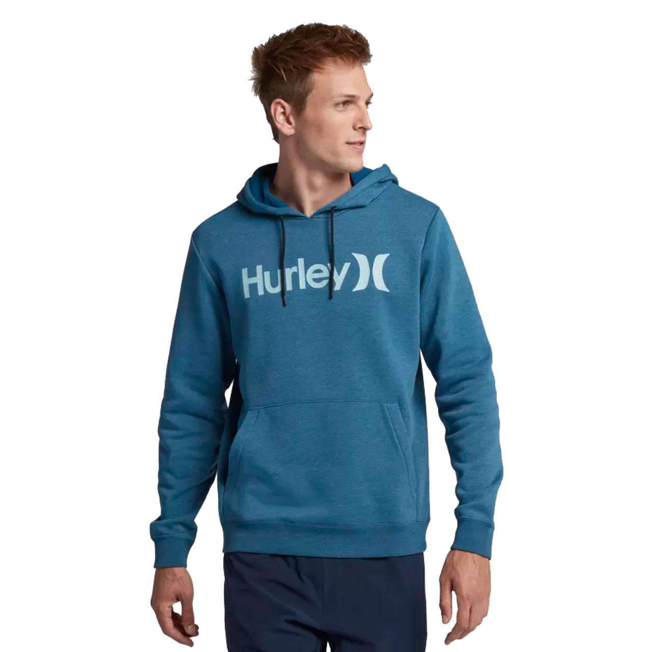 8c1ec9d2 Hurley Hoody - Surf Check One and Only - Blue Force Heather - Surf ...