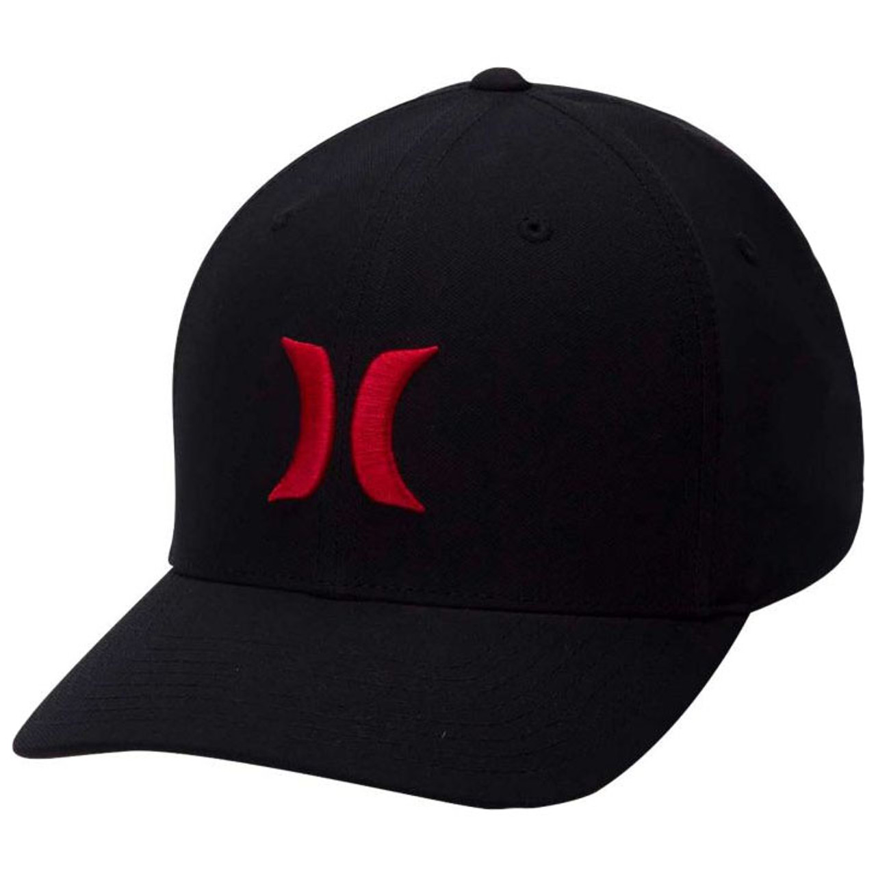 dcc7e7d2641 Hurley Hat - Dri-Fit One and Only - Black University Red - Surf and Dirt