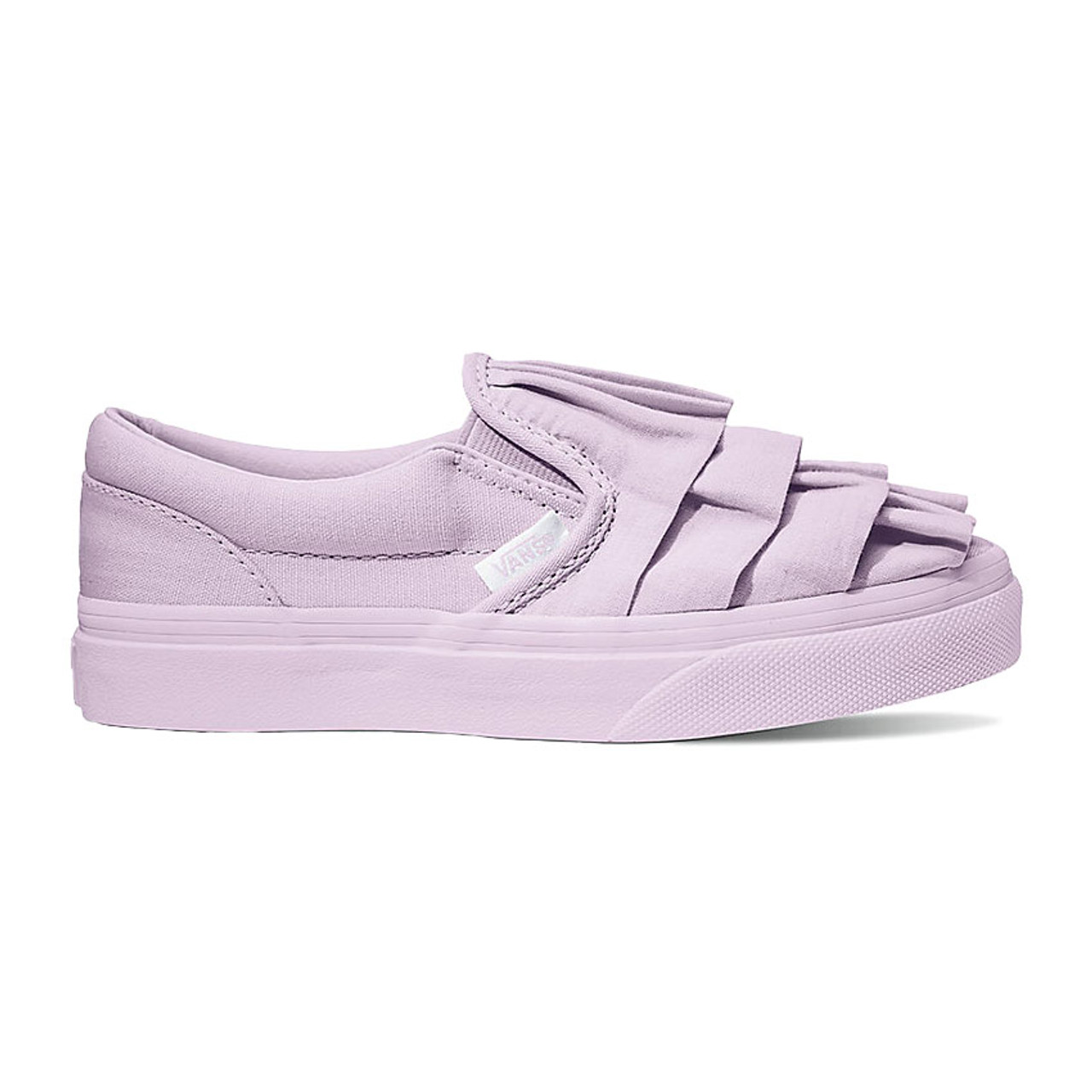 28f8e07019ad Vans Youth Shoes - Classic Slip-On - Lavender Fog - Surf and Dirt