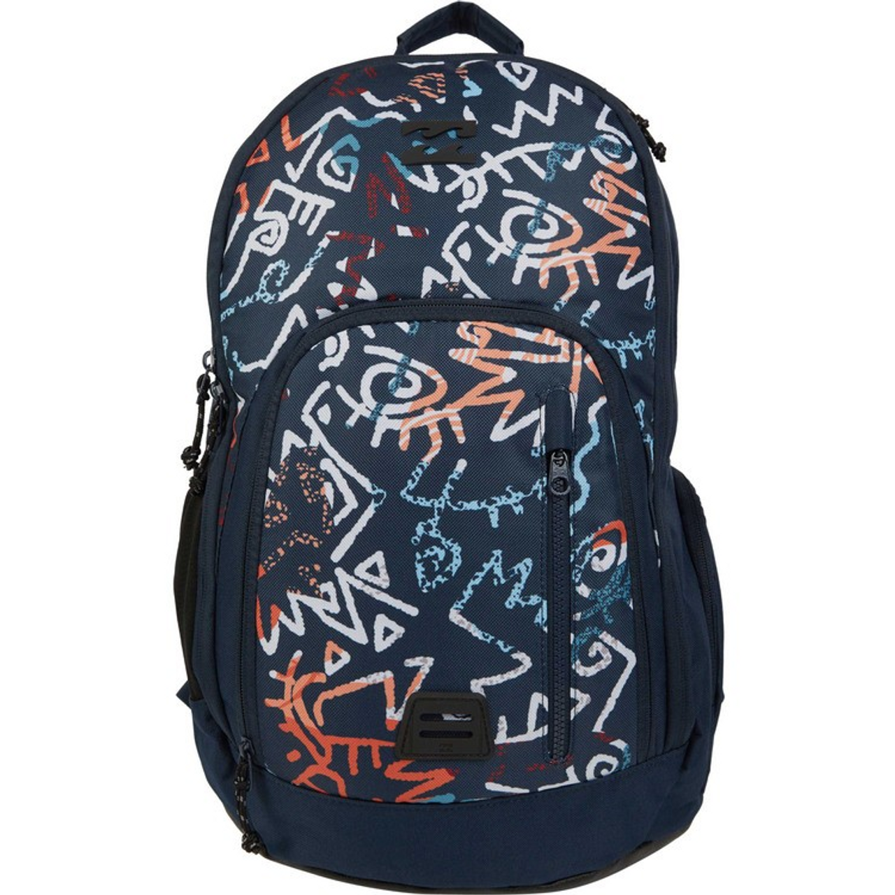 d2b89763e55 Billabong Backpack - Command Pack - Navy Coral - Surf and Dirt