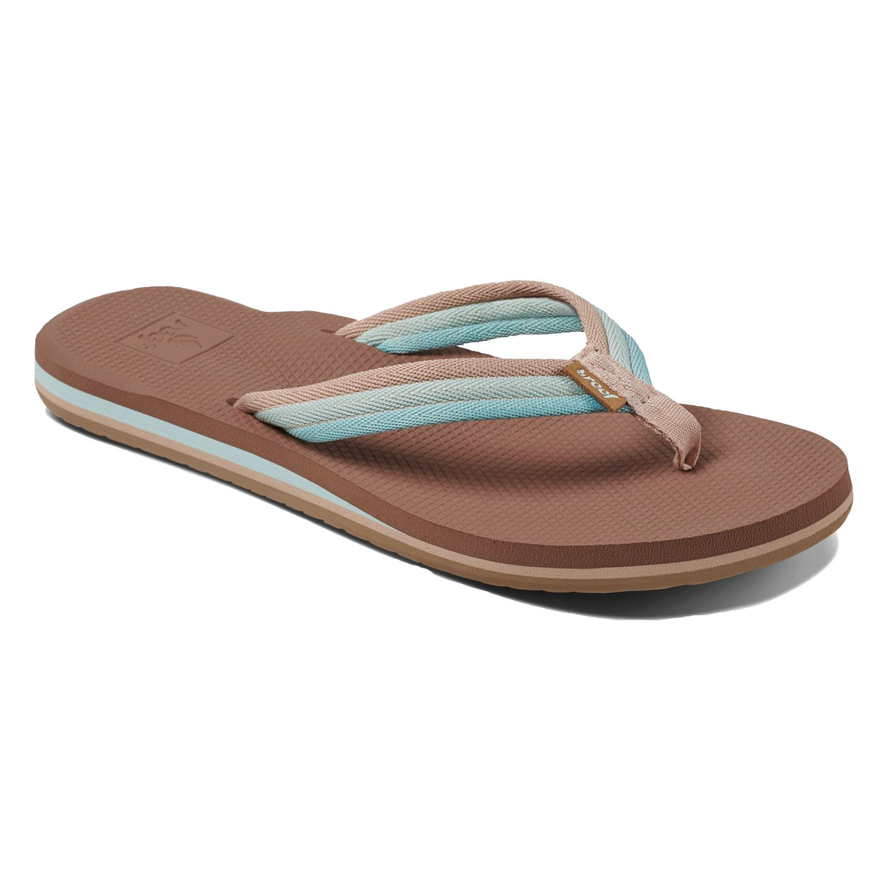 b1f67599eae5 Reef Women s Flip Flops - Reef Voyage Lite Beach - Aqua - Surf and Dirt
