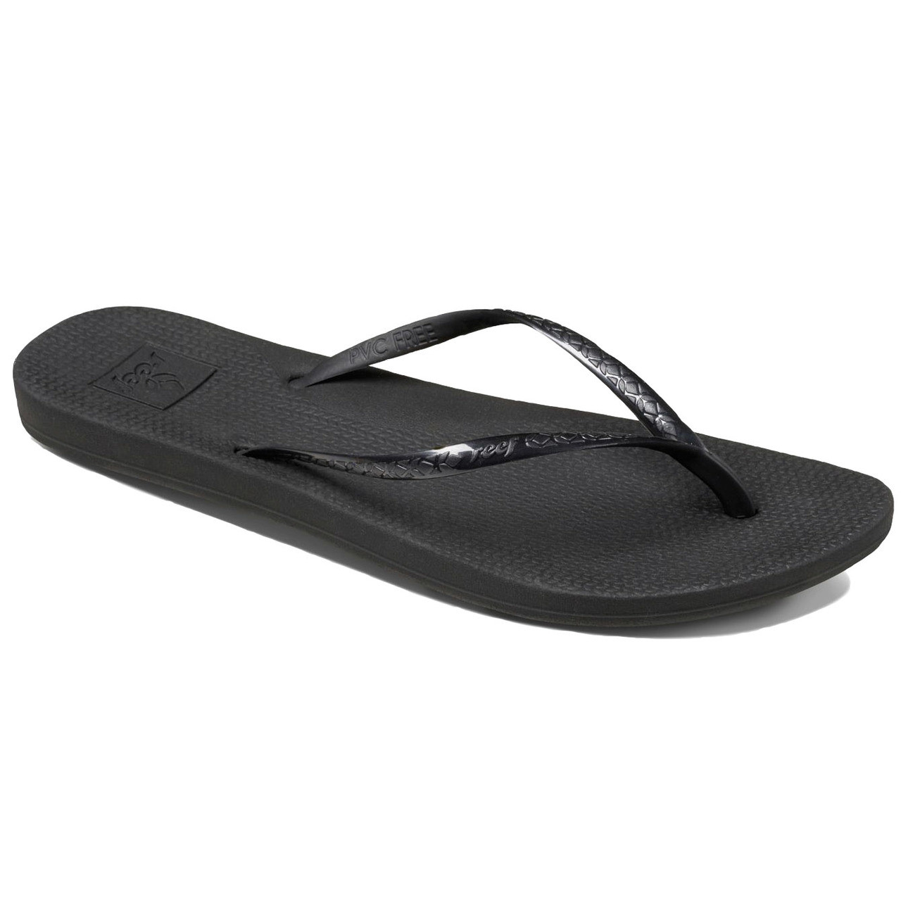 aa165ad0c5f9d Reef Women s Flip Flops - Reef Escape Lux - Black - Surf and Dirt