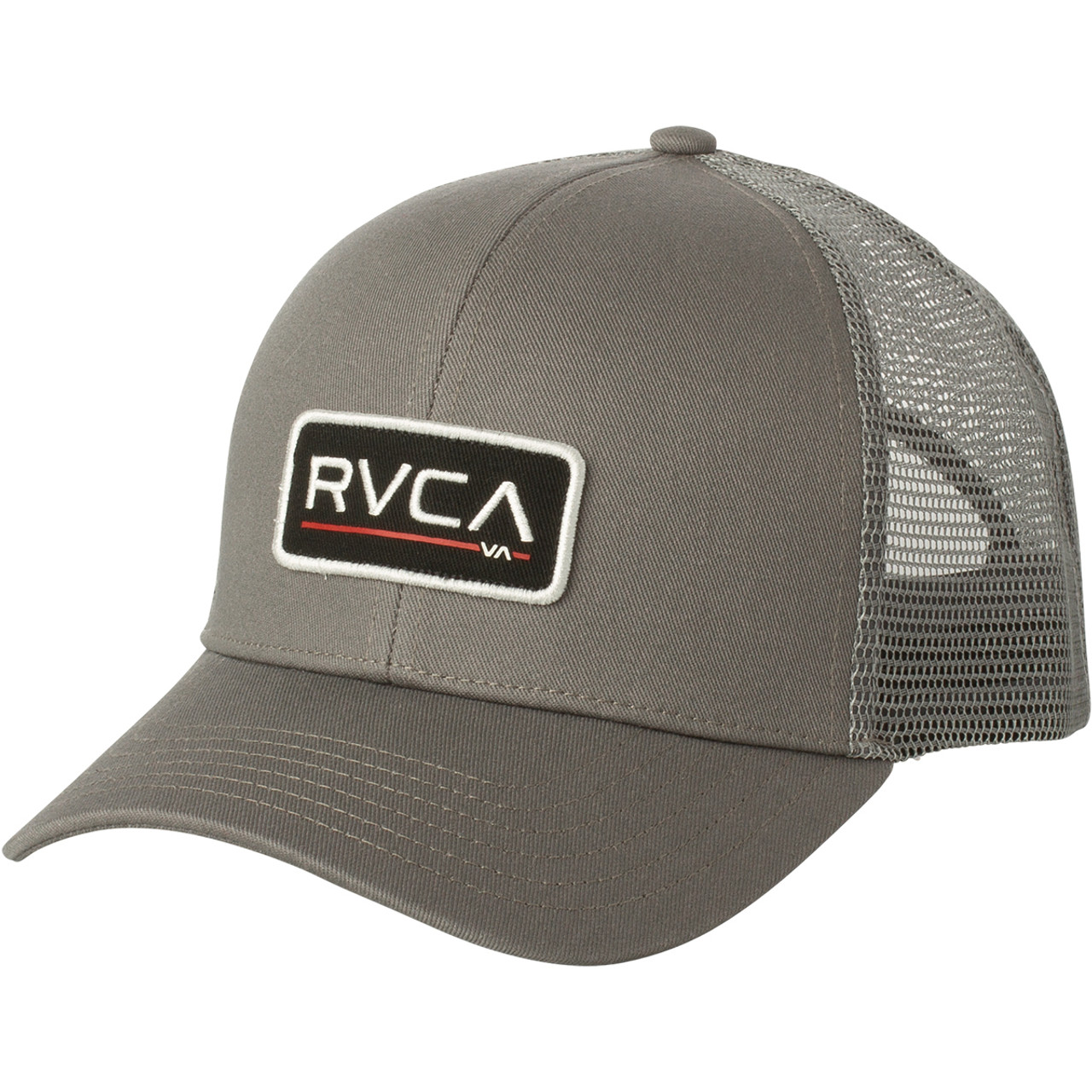 fba15e5fb1d78 RVCA Hat - Ticket Trucker - Grey - Surf and Dirt