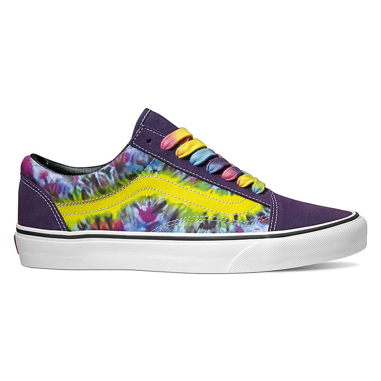 Vans Shoes Old Skool Tie Dye MysteriosoTrue White