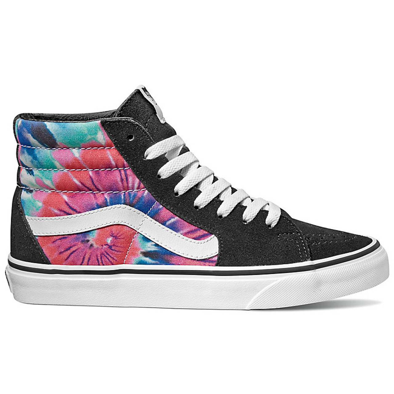e78196c8fee533 Vans Shoes - Sk8-Hi - Tie Dye Multi True White - Surf and Dirt