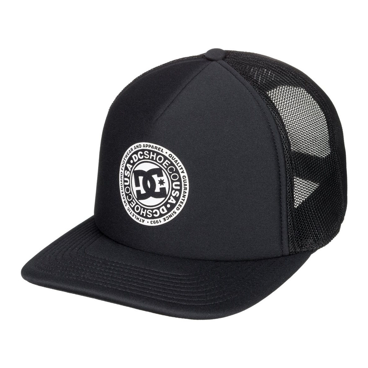 2cac90e84367d DC Hat - Vested Up - Black - Surf and Dirt
