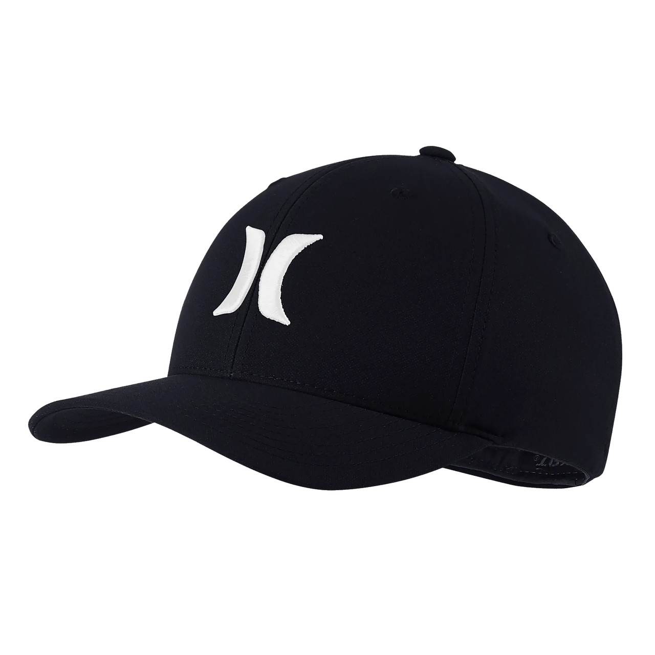 outlet store 952e4 2577f Hurley Hat - One and Only Dri-Fit - Black White