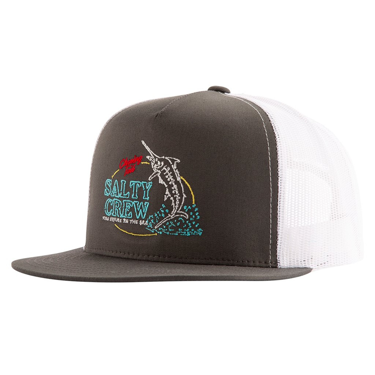cheaper b1c55 9142e Salty Crew Hat - Fresh Catch Trucker - Charcoal White - Surf and Dirt
