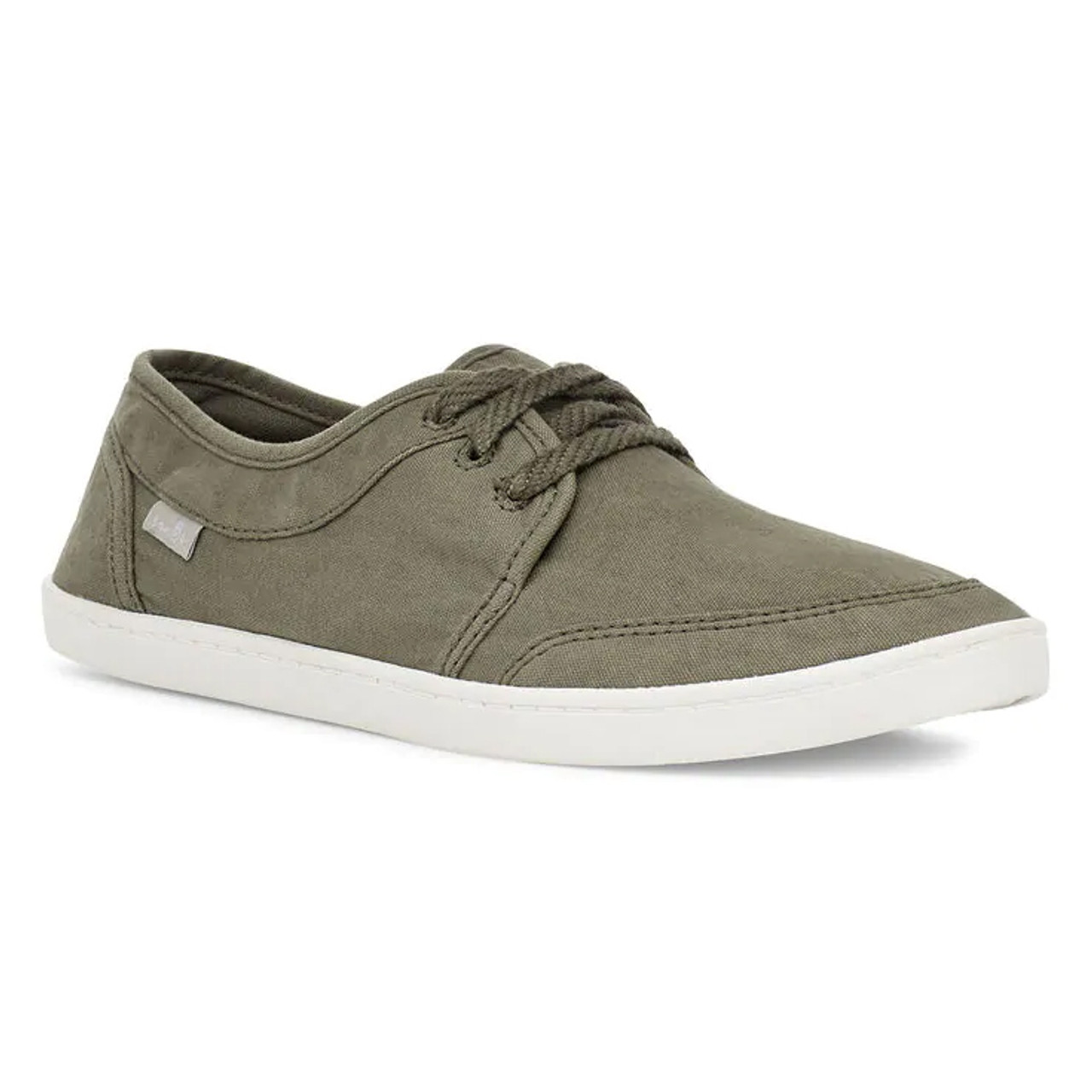 Sanuk Women's Shoes - Pair O Dice Lace - Military Green - Surf and Dirt