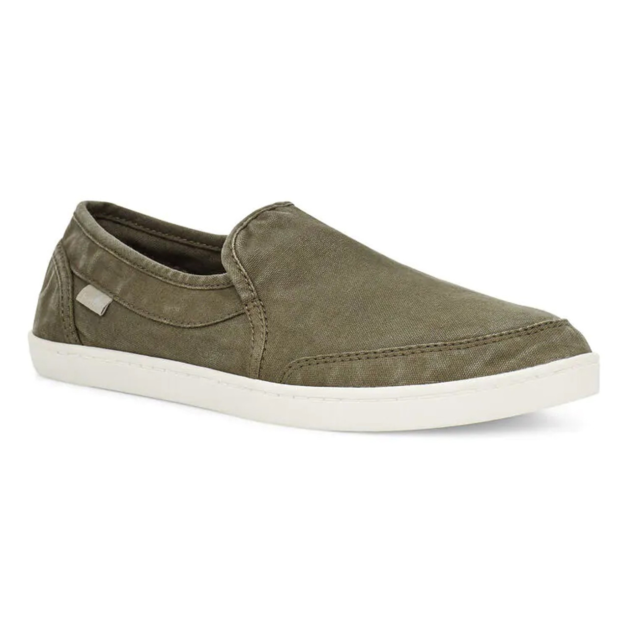 Sanuk Women's Shoes - Pair O Dice - Military Green - Surf and Dirt