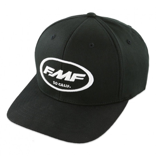 FMF Hats - Factory Classic Don - Black/White