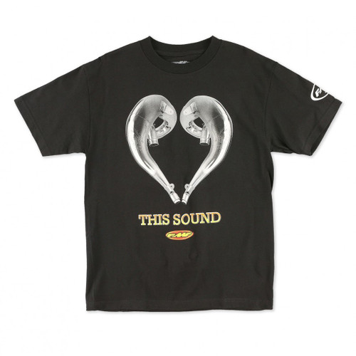 FMF Tee Shirts - Love This Sound SS - Black