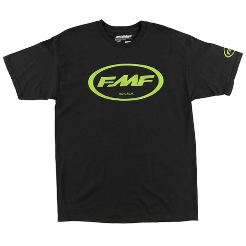 FMF Tee Shirts - Factory Classic Don - Black/Green