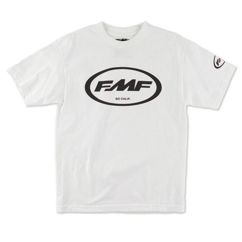 FMF Tee Shirts - Factory Classic Don - White