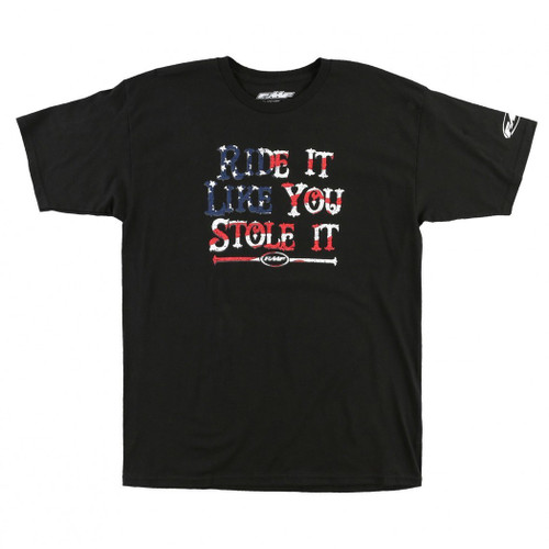 FMF Tee Shirt - Stole It - Black