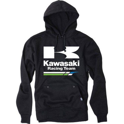 Factory Effex Hoody - Kawasaki Racing - Black