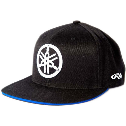 Factory Effex Hat - Yamaha Fork - Black/Blue